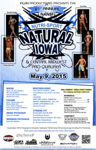 Natural Iowa Bodybuilding Event