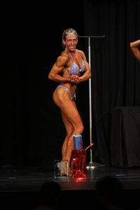 Lisa Takes Womens Bodybuilding 40+ Champion