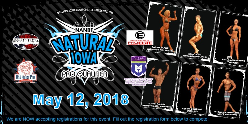 2018 NANBF Natural Iowa information