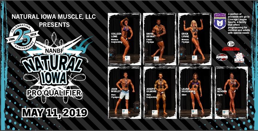 2019 NANBF NATURAL IOWA INFORMATION | Natural Iowa Muscle