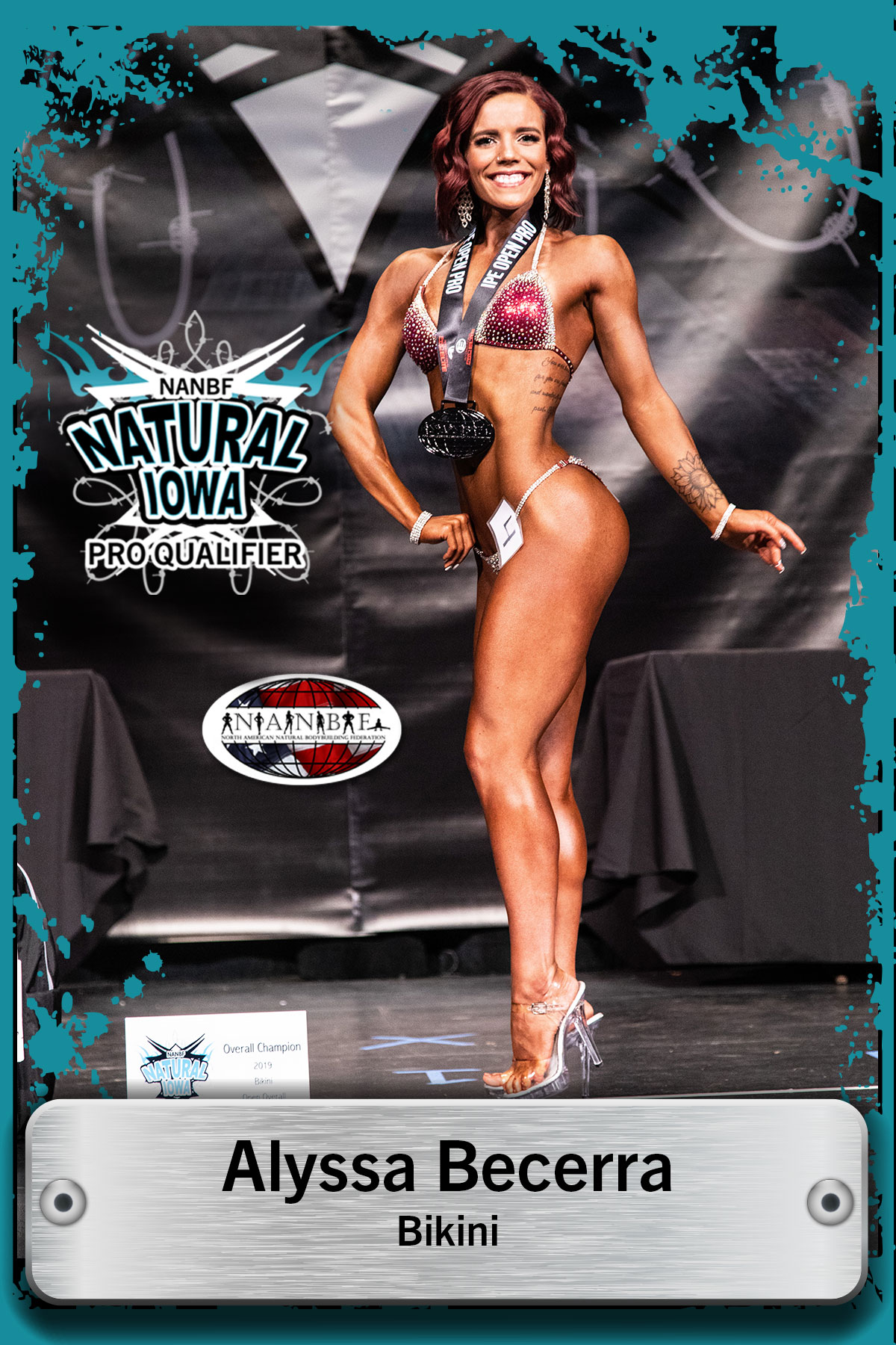 NATURAL IOWA COMPETITOR SPOTLIGHT: ALYSSA BECERRA
