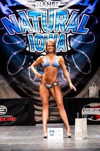 Overall Bikini winner Marissa Knoop